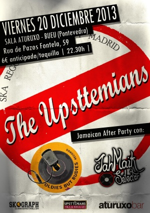 The Uppsttemians (Ska Reggae Band, Madrid).